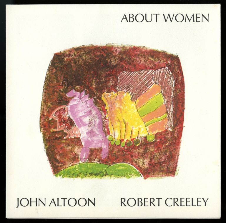 About women. John Altoon (1825-1969), Robert Creeley (1926-2005). Prospectus. John. Gemini Ltd Altoon.