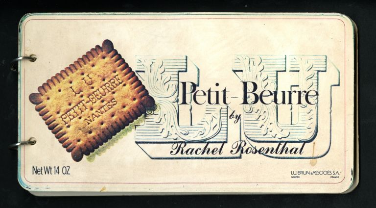 Le petit beurre: an autobiography. Signed & numbered. Rachel Rosenthal.