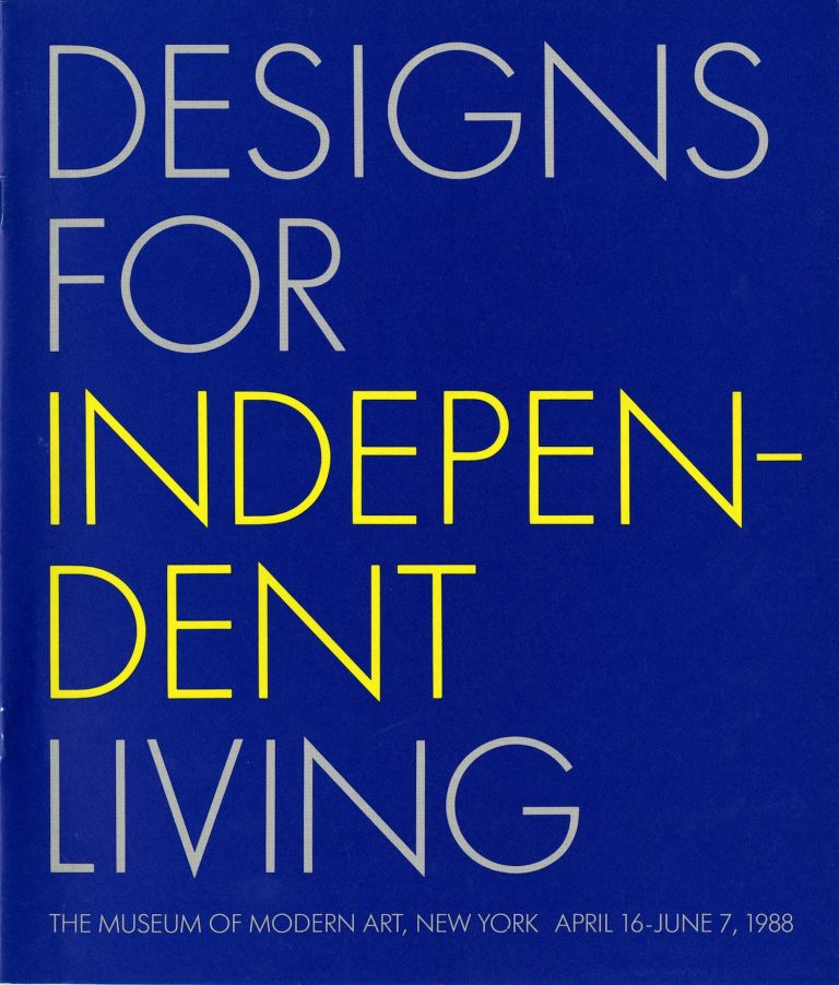 Designs for independent living. New York Museum of Modern Art.