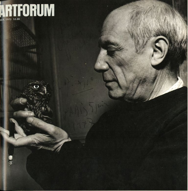 Artforum. Vol. XI (11), nos. 1-10 complete. September 1972-June 1973. As new, bound. Sale price through 10/31/2020. John Coplans, ed.