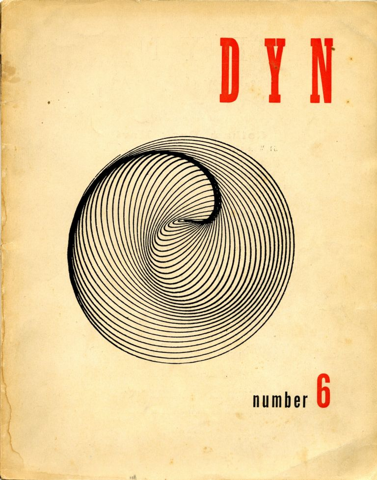 Dyn: the review of modern art. Number 6. Wolfgang Paalen, publisher.