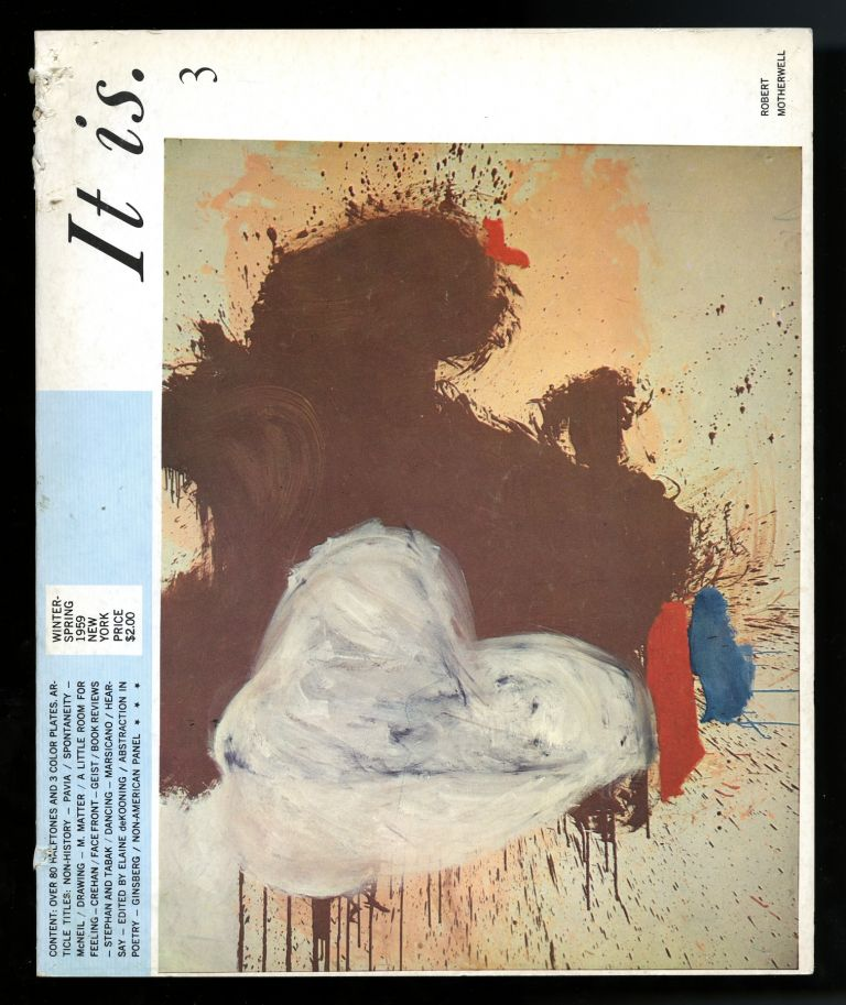 It is: a magazine for abstract art [title varies]. Complete set: nos. 1-6. Sebastian. Pavia Gallo, ed., Philip G., pub.