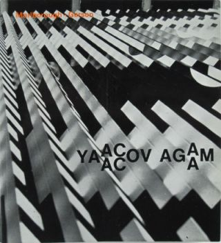 Yaacov Agam. Inscribed. Yaacov Agam, New York Marlborough-Gerson Gallery.