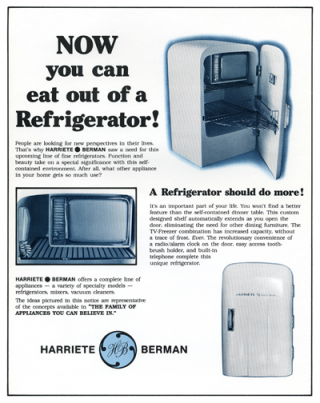 The Family Appliances You Can Believe In. May 29–July 3, 1983. With letter-size poster.