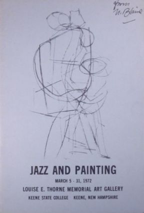 Jazz and painting. March 5–31, 1972. Corrected proof copy. SALE PRICE through December 31,...