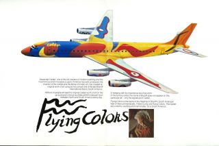 Flying colors [brochure]. Alexander Calder