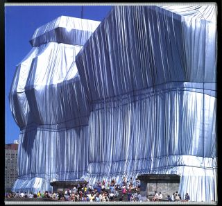 Wrapped Reichstag: Berlin 1971-95. Hors-commerce copy signed and numbered by the artists and photographer