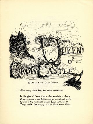 The queen of Crow Castle: a ballad for Jess Collins