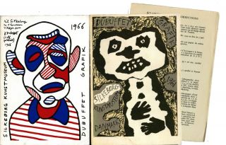 Jean Dubuffet grafiek. Jean Dubuffet: gravures et lithographies. [print catalogue raisonné with...