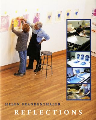 Helen Frankenthaler: Reflections, a series of twelve color lithographs. Helen Frankenthaler, Kenneth E. Tyler.