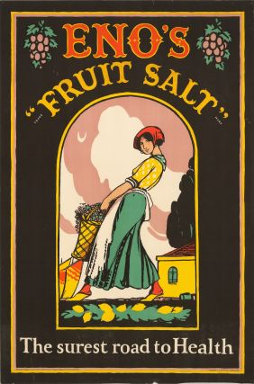 """Eno's """"fruit salt""""; the surest road to health (poster)"""