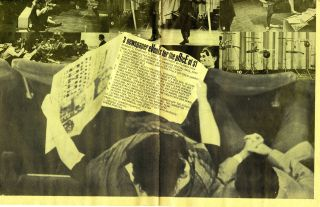 Fluxus 3 newspaper eVenTs for the pRicE of $1. Number 7. February 1, 1966