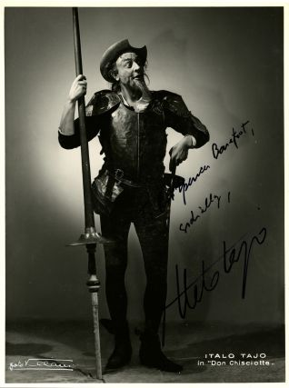 Signed & inscribed musical photographs: a collection of 60 examples + related material