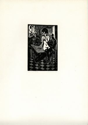 53 original drawings, linocuts & a copper plate. Vladimir Kovenatsky