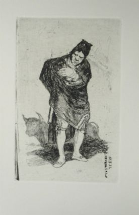 Late Caprichos of Goya: fragments from a series. SALE PRICE through 12/31/2019