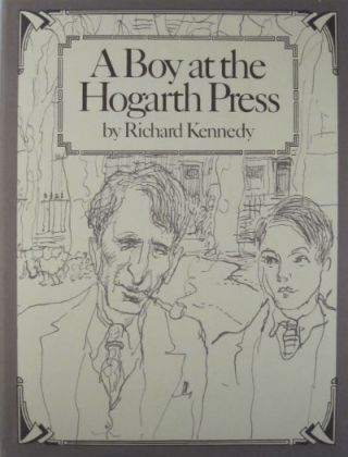 A boy at the Hogarth Press. SIGNED. Richard Kennedy.