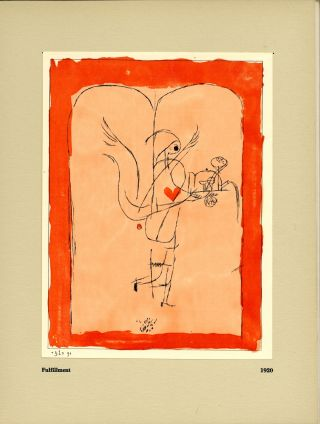 Paul Klee: paintings, watercolors, 1913-1939. Paul. Nierendorf Klee, introduction, ed. James...