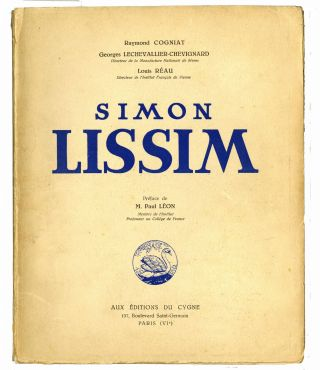 Simon Lissim. SALE PRICE through 31 December 2019. Simon Lissim, Raymond Cogniat