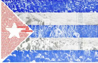 Companeras and companeros: a documentary about Cuban youth. Poster. Adolfas. Stone Mekas,...