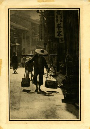 A street in China. Photogravure from Alfred Stieglitz's Camera Work, 1912