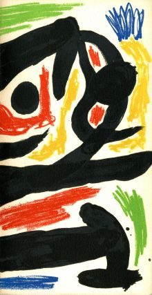 Peintres-graveurs contemporains 1970. With original lithograph cover by Miró [Miro]. Joan. Berggruen Miró, Paris, Miro.
