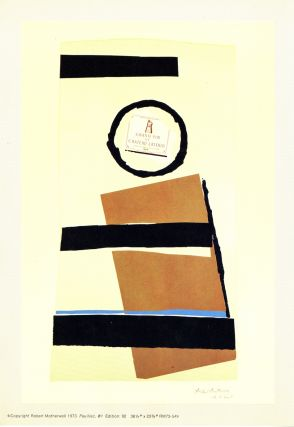 Robert Motherwell: summer light series, 1973. Prospectus