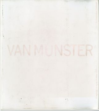 Van Munster (title from plastic pocket). [25 september… 18 oktober 1970.]. Jan van Munster.