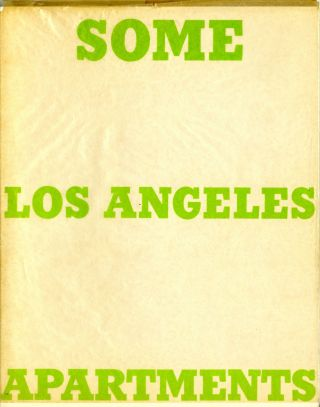 Some Los Angeles apartments. Second edition, 1970
