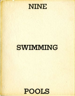 Nine swimming pools and a broken glass. First edition. Fine