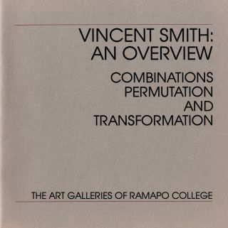 Vincent Smith: an overview: combinations, permutation and transformation. Vincent Smith