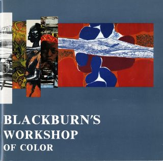 Bob Blackburn's Printmaking Workshop: artists of color. SALE PRICE through December 31, 2019....