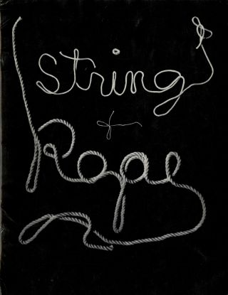 Exhibition string & rope. New York Sidney Janis Gallery.