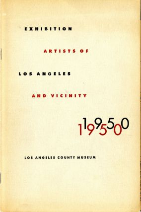 Artists of Los Angeles and vicinity: 1950 annual exhibition. Los Angeles County Museum