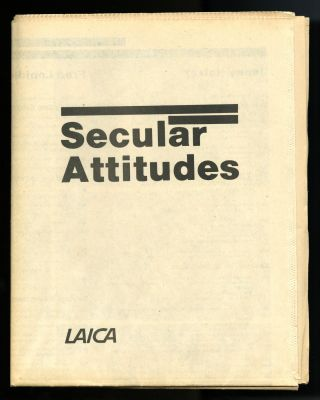 Secular attitudes: Jenny Holzer, Fred Lonidier, The Sisters of Survival; Karen Atkinson: a...