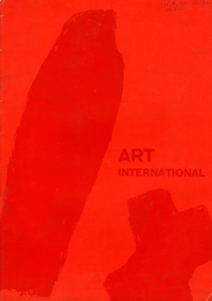 Art international, Vol. III:1/2, 1959, through Vol. X:10, Dec. 1966