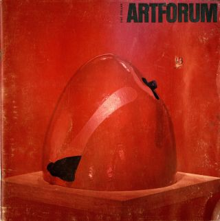 Artforum, volume II, no. 2, August 1963. California sculpture today. John. Irwin Coplans, John