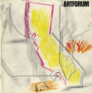 Artforum. March 1964, volume 2, number 9. Twentysix Gasoline Stations. With facsimile of Library...
