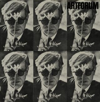 "Artforum, volume III, number 3, December 1964. With cover ""Andy Warhol,"" a photograph by Dennis..."