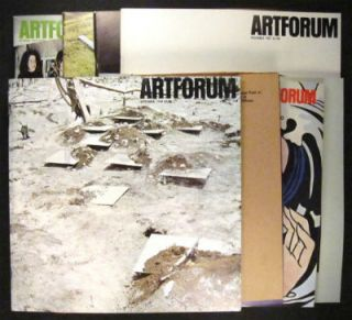 Artforum published 8 major pieces written by Robert Smithson. Here is the complete group. Robert. Artforum. Leider Smithson, Philip.