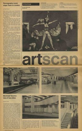 ArtsCanada: the new technology and the arts. February 1967, issue no. 105