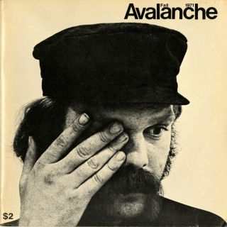 Avalanche number 3. Fall 1971. Elizabeth Bear, pub, Willoughby, ed. Sharp