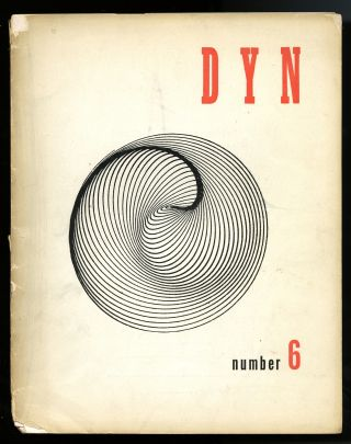 Dyn: the review of modern art. Number 6. Wolfgang Paalen, publisher