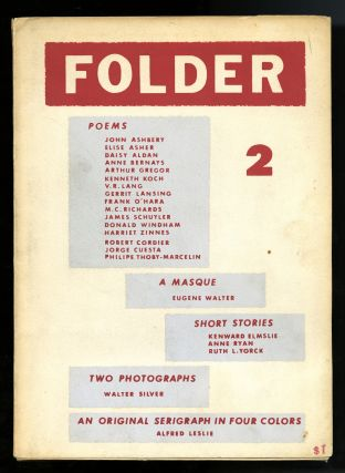Folder 2, 3, 4 (of 4 published). Daisy Aldan, Richard Miller, Stéphane Mallarmé,...