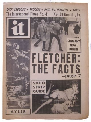 International times IT Number 4, Nov 28-Dec 11, 1966. Tom McGrath, ed