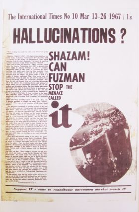 International times. IT. Number 10, Mar 13-26, 1967. Photocopy. Tom McGrath, ed