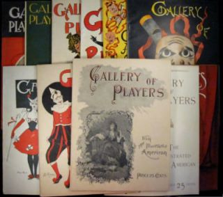 Gallery of Players from the Illustrated American. Complete in 12 parts. SALE PRICE through...