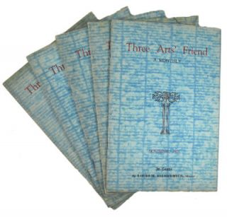 Three arts' friends: a monthly of truth, education, ecstasy. SALE PRICE through December 31,...