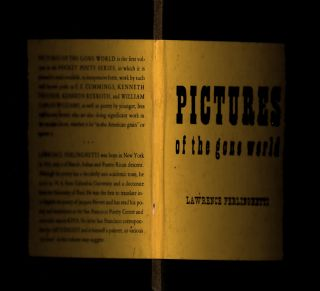 Pictures of the gone world. True 1st edition