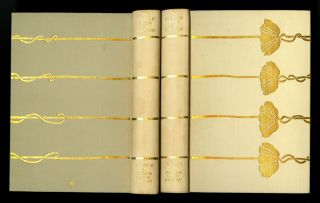 The marble faun, or The romance of Monte Beni; with forty-eight illustrations. [The Roman edition in two volumes, with dustjackets & slipcase]