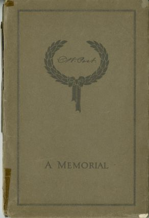 Charles William Post, both October 26, 1854, died May 9, 1914. [Cover title: C. W. Post: a memorial]. Charles William Post, the cereal king.
